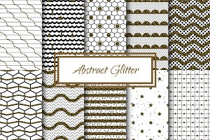 Abstract Glitter Seamless Patterns