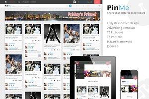 PinMe - Responsive Joomla Template