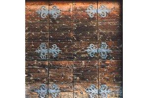 texture old tree, italy door