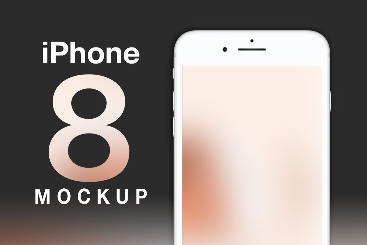 Iphone 8 Mockup Creative Mobile Web Mockups Creative Market