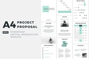 A4 Project Proposal PowerPoint