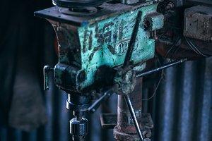 Vintage Drill Tool