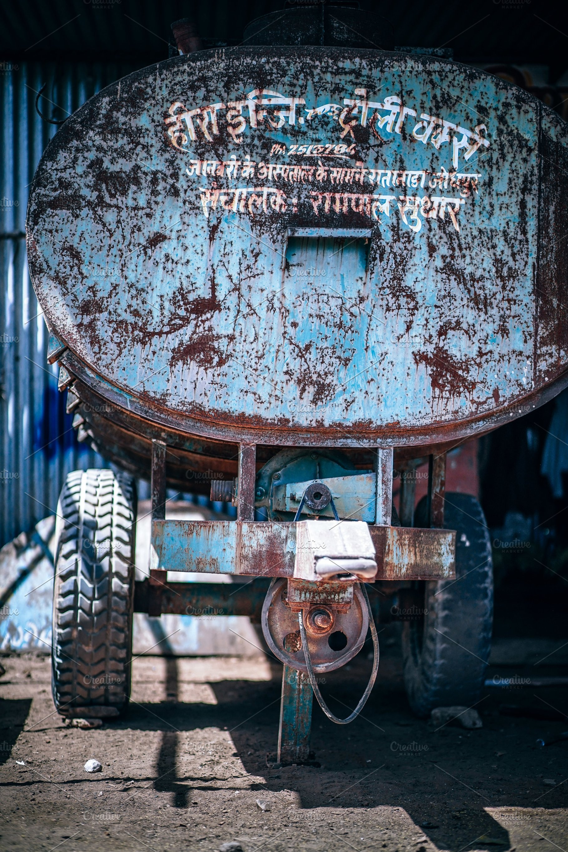 Sweet Tractor Water Tank