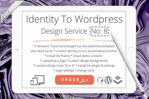 Convert Identity To WordPress No 8