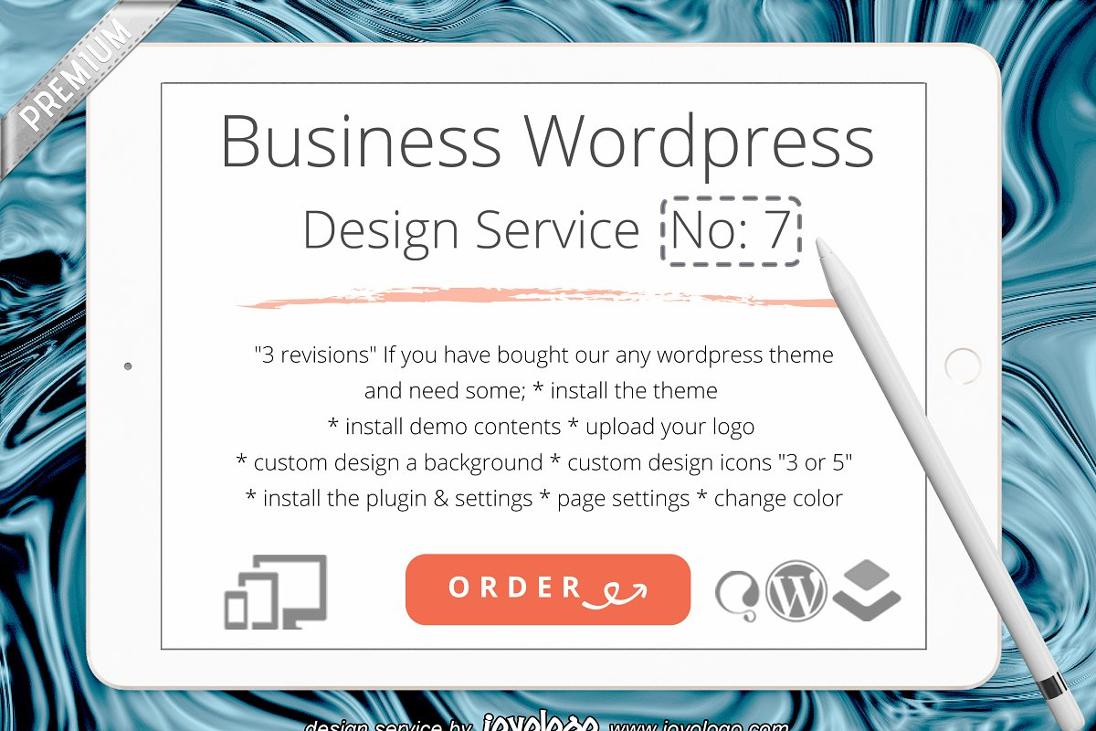 Business Identity WordPress Theme N7