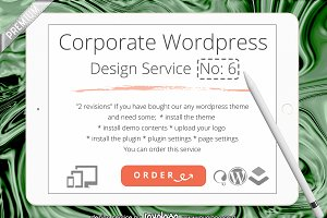 Corporate Identity WordPress Site N6
