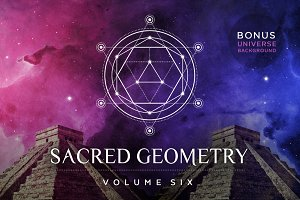 Sacred Geometry Vector Set Vol. 6