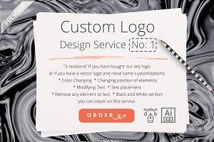 Logo Customization Service No 1