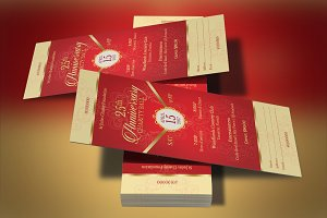 Red Gold Anniversary Gala Ticket
