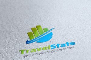 Travel Stats Logo