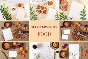 Set Mockups. FOOD