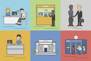 Illustration of small business