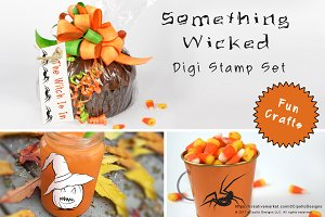 Something Wicked Digi Stamp Set