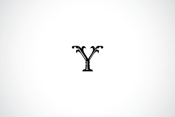 Letter y logo template logo templates creative market maxwellsz