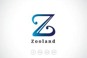 Alphabet Z Logo Template