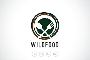 Wild Food Logo Template