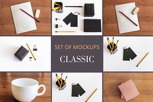 Set Mockups. CLASSIC