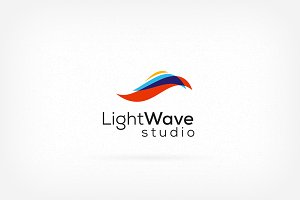 Light Wave Logo