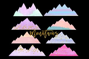 mountain clip art
