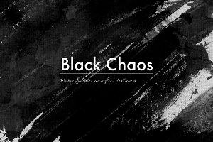 Black Chaos - 10 acrylic textures