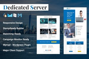 Dedicated Server - Responsive Email
