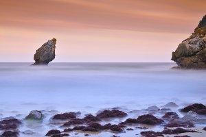 Buelna beach.