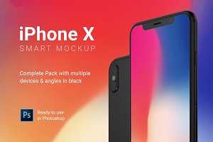 iPhone X Mockup Full Package
