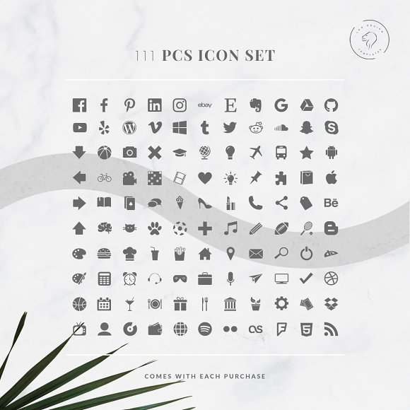 Media Kit Template - 2 Pages in Templates - product preview 3