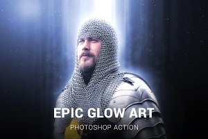 Epic Glow Photoshop Action