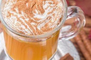Pumpkin spice latte smoothie