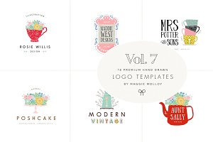 Feminine Premade Logo Bundle Vol. 7