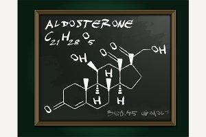 Aldosterone Molecule Image