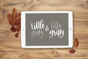 Little & Lotta Gritty Brush Duo