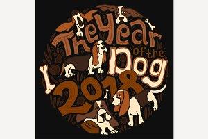 New Year Basset Pattern