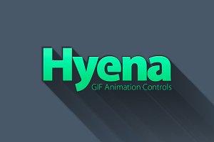 Hyena - GIF Animation Controls