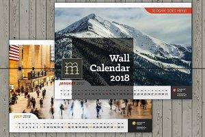 Wall Calendar 2018 (WC011-18)