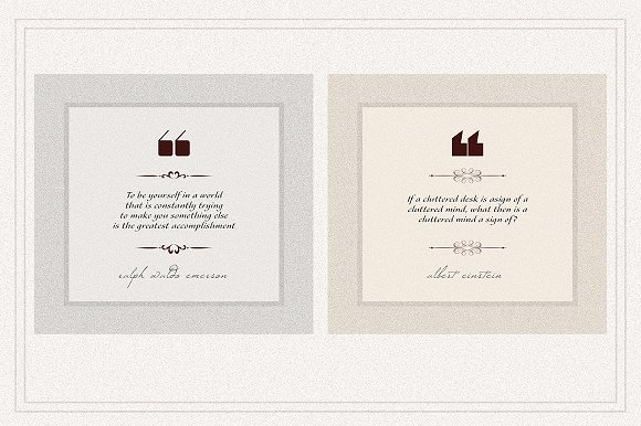 AMBIENT VOL2 Social Media quote pack in Instagram Templates - product preview 1