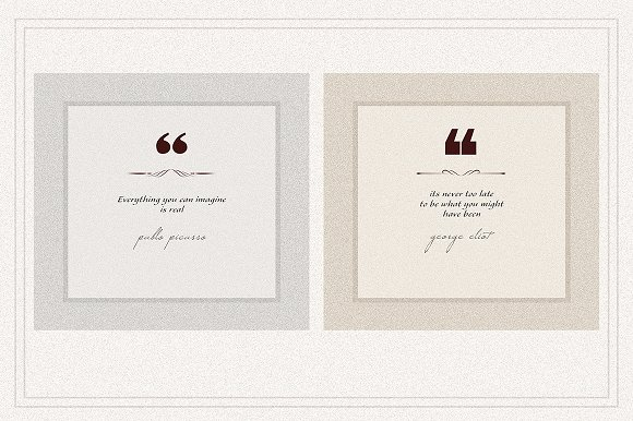 AMBIENT VOL2 Social Media quote pack in Instagram Templates - product preview 2