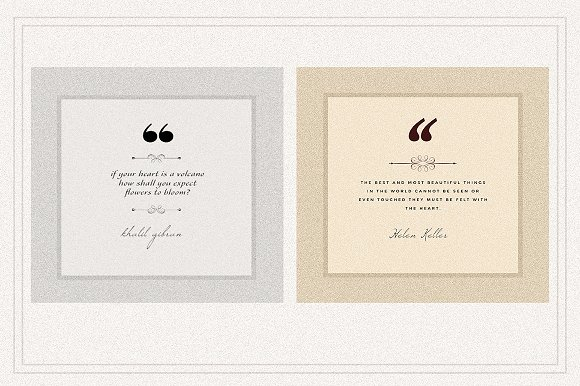 AMBIENT VOL2 Social Media quote pack in Instagram Templates - product preview 3
