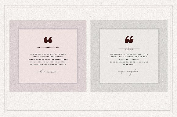 AMBIENT VOL2 Social Media quote pack in Instagram Templates - product preview 5