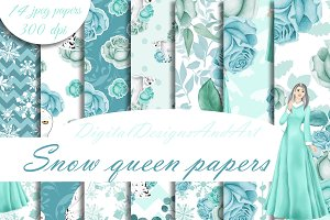 Snow queen patterns