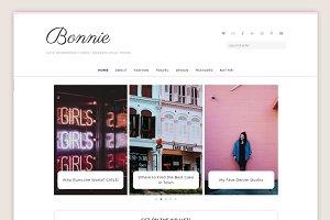Bonnie Theme • Genesis Framework