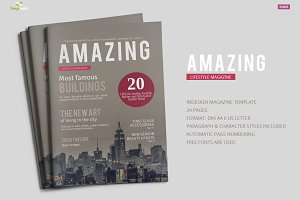AmazingMagazine Template