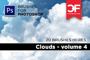 Clouds brushes Volume 4