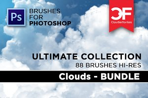 Ultimate Clouds brushes Collection