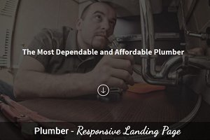 Plumber - One Page Template