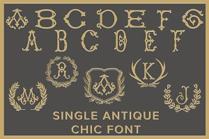 Single Antique Chic