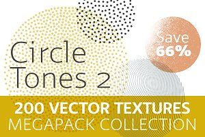 200 Vector CirclesTones Megapack II