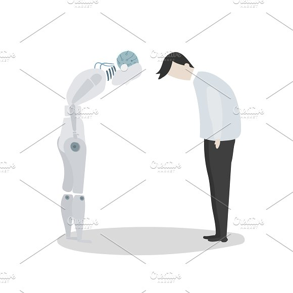 Robot Vector Graphic
