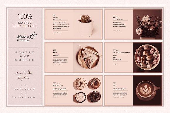 PASTRY & COFFEE Socialmedia Template